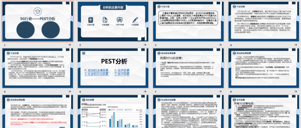 """G行业pest分析免费下载"""""""