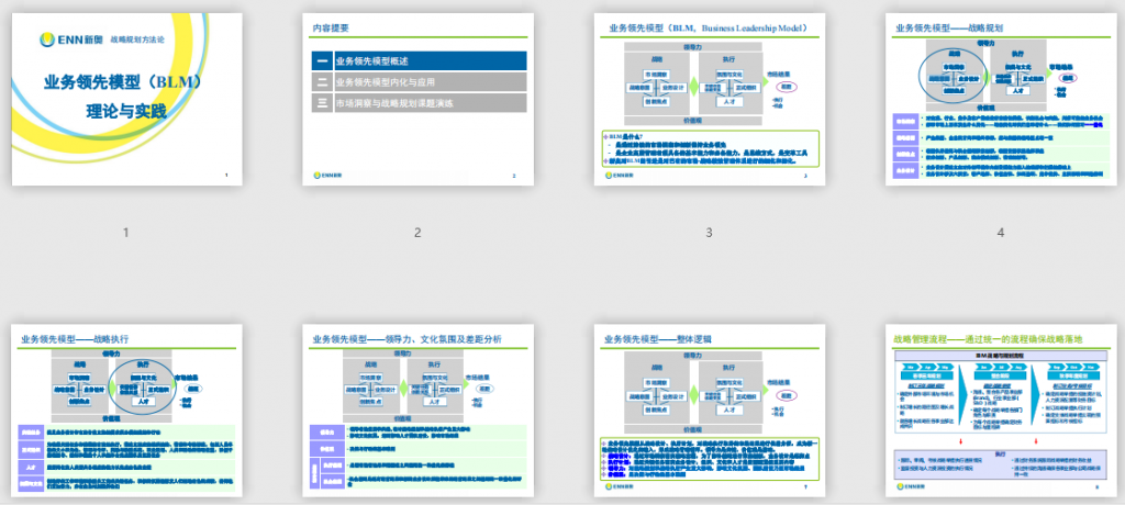 OD工具箱:业务领先模型(BLM)理论与实践免费下载